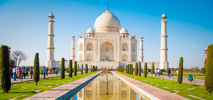 Taj Mahal- Golf Tour