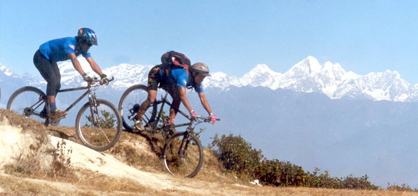 Mountain Bike Tour in Nepal