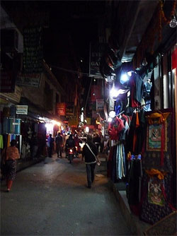 Shopping in Nepal