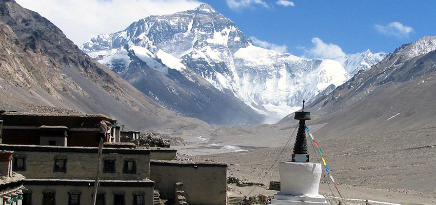 Everest Base Camp Tour from Tibet side ( Fly in Drive out)