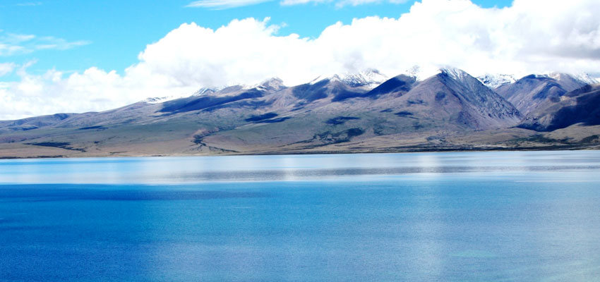 Rivers and Lake in Tibet
